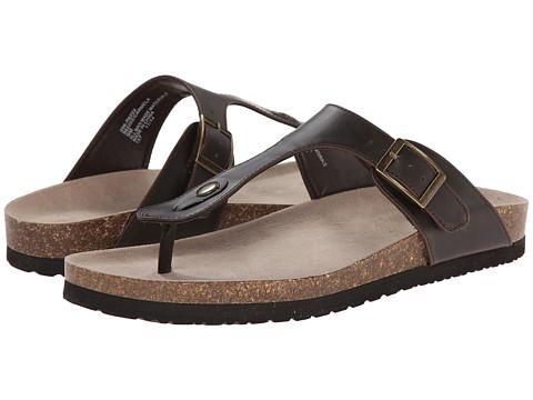 Rialto - Carmela (Dark Brown) Women's Toe Open Shoes
