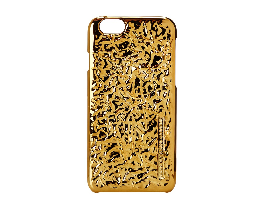 Marc by Marc Jacobs - Foil iPhone 6 Case (Gold) Headphones