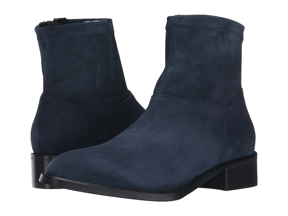 Sesto Meucci - Albie (Jean Suede/Matching Stretch Suede) Women's Pull-on Boots