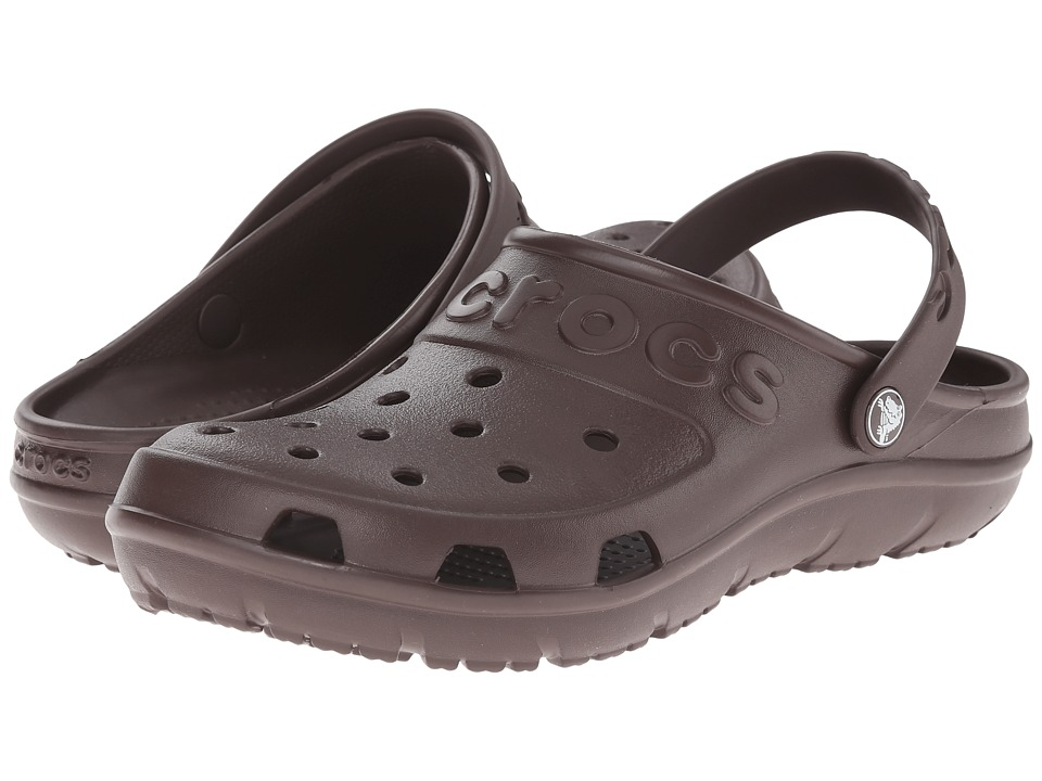 Crocs - Hilo Clog (Mahogany) Clog Shoes