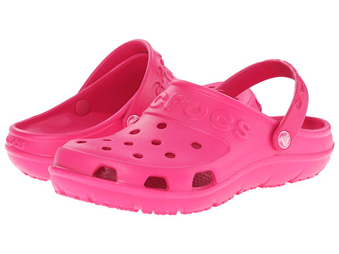 Crocs - Hilo Clog (Candy Pink) Clog Shoes