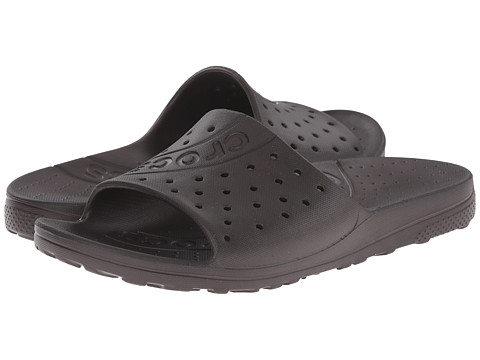 Crocs - Chawaii Slide (Espresso) Slide Shoes