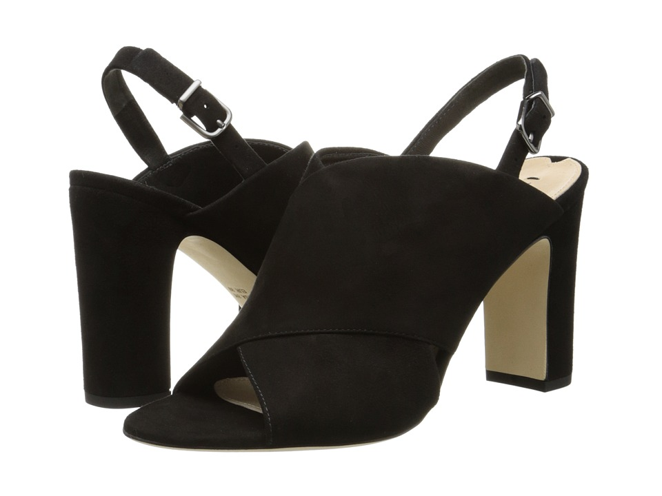 Via Spiga - Amya (Black Kid Suede) High Heels