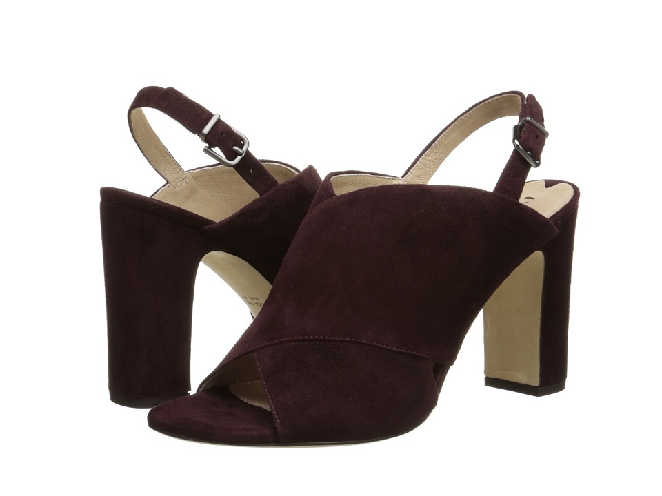Via Spiga - Amya (Burnt Umber Kid Suede) High Heels