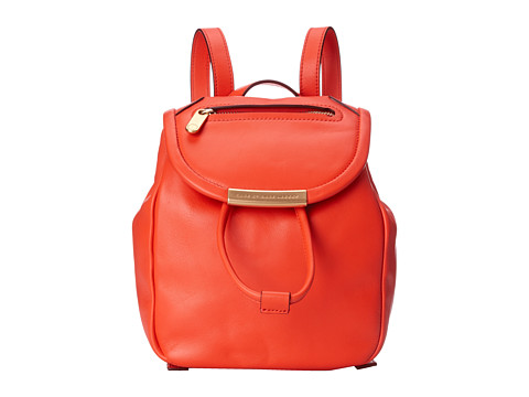 Marc by Marc Jacobs - Luna Mini Backpack (Bright Tangelo) Backpack Bags