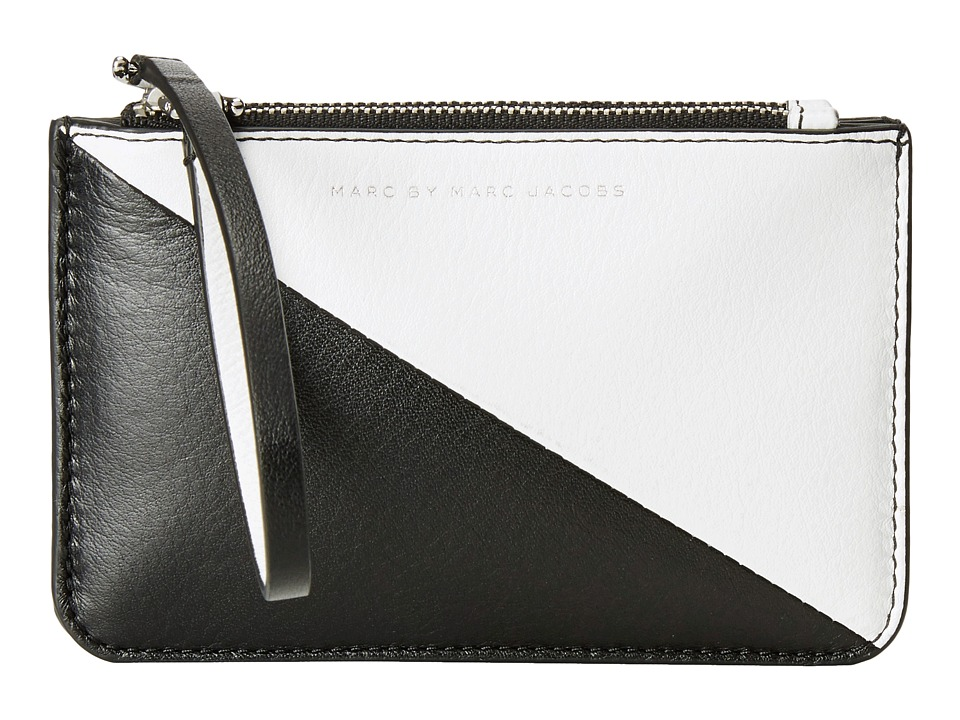 Marc by Marc Jacobs - Sophisticato Sliced Double Wristlet (Star White Multi) Wristlet Handbags