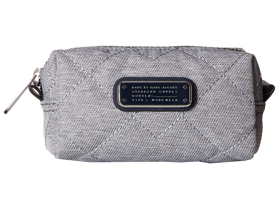 Marc by Marc Jacobs - Crosby Quilt Chambray Small Cosmetic (Pacific Ocean Chambray) Cosmetic Case