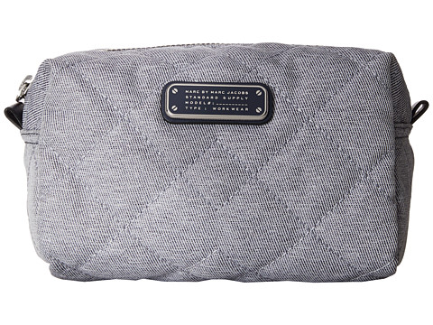 Marc by Marc Jacobs - Crosby Quilt Chambray Large Cosmetic (Pacific Ocean Chambray) Cosmetic Case