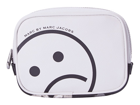 Marc by Marc Jacobs - Sophisticato Unsmiley Small Box Cosmetic (White Multi) Wallet