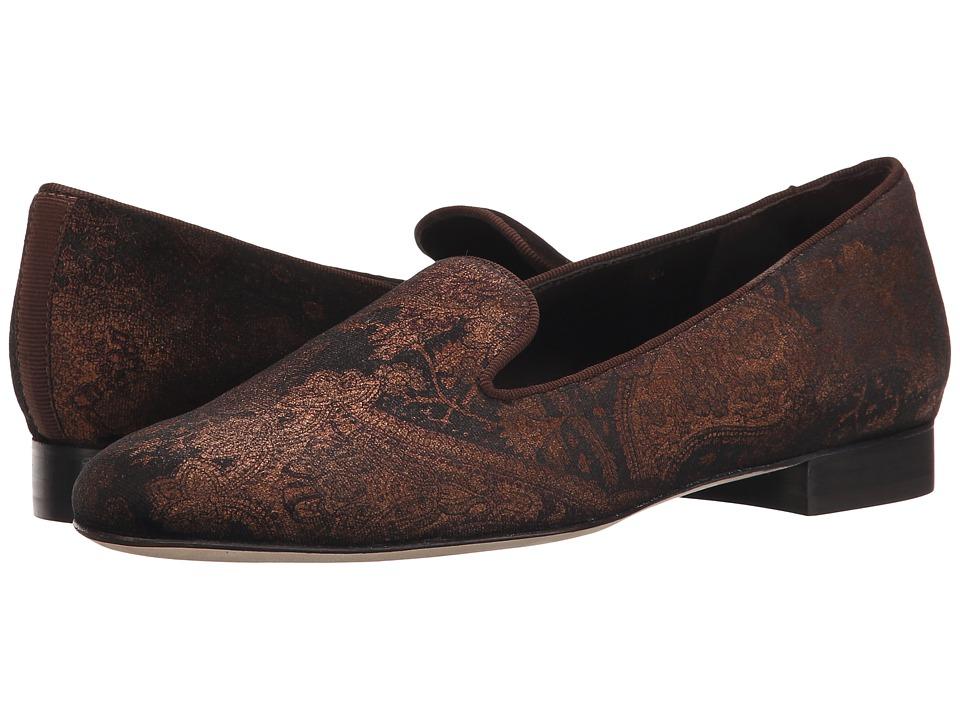Vaneli - Arlen (Brown Miri Velvet/Mtch Gross Grain) Women's Slip on Shoes