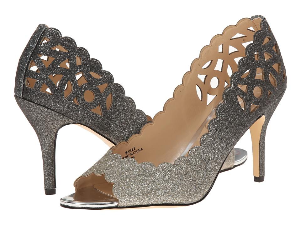 J. Renee Bailee (Pewter) High Heels
