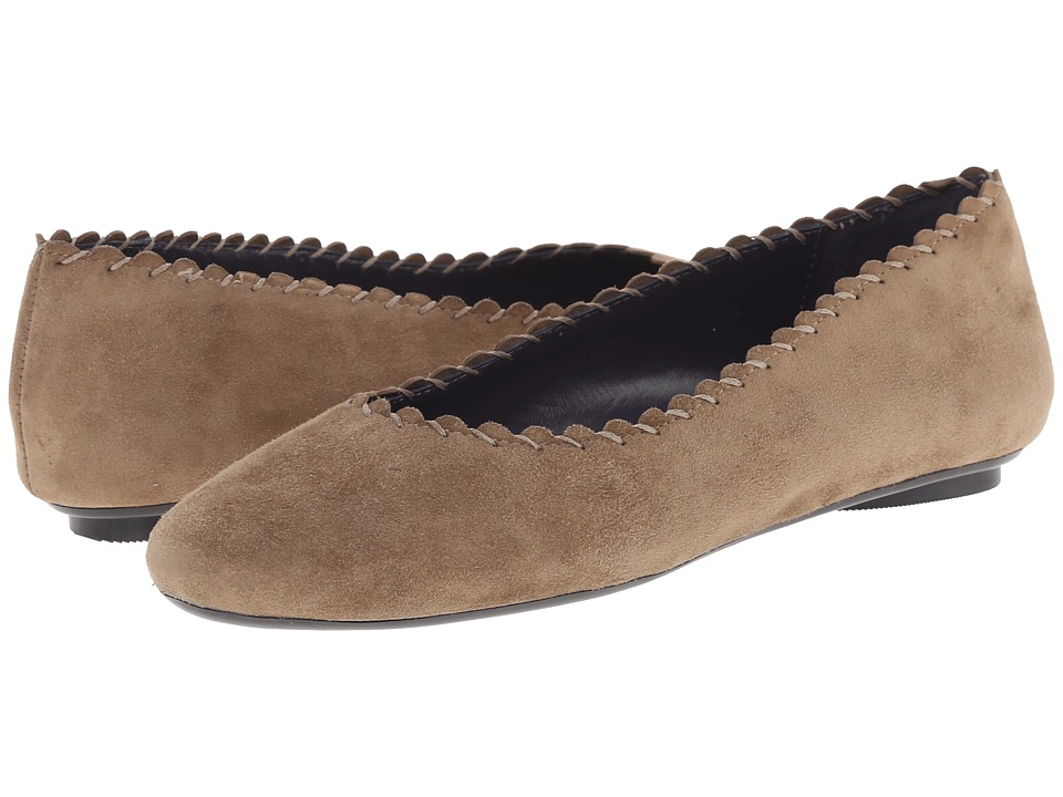 Vaneli - Bennet (Dark Tan Coach Suede) Women's Slip on Shoes