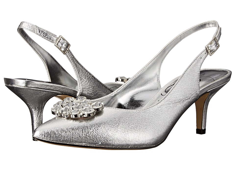 J. Renee Makenzie (Silver) High Heels