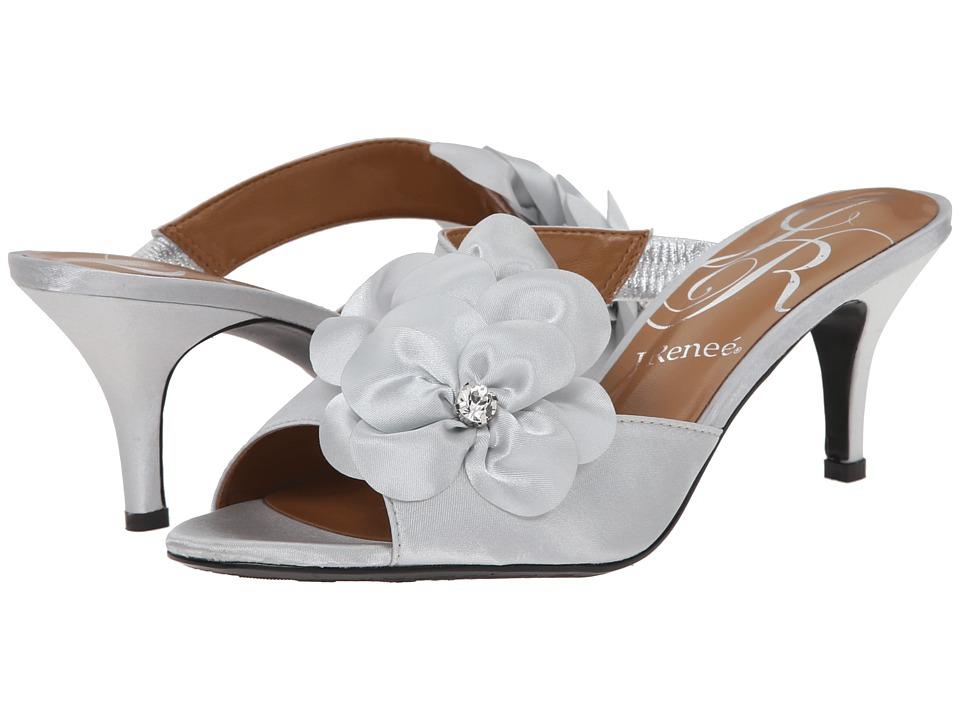 J. Renee - Reesa (Silver) High Heels