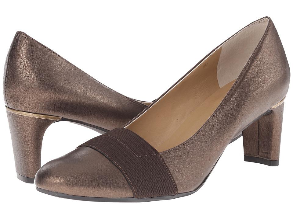 Vaneli - Davis (Castagna Prl Nappa/Mtch Elastic) Women's 1-2 inch heel Shoes
