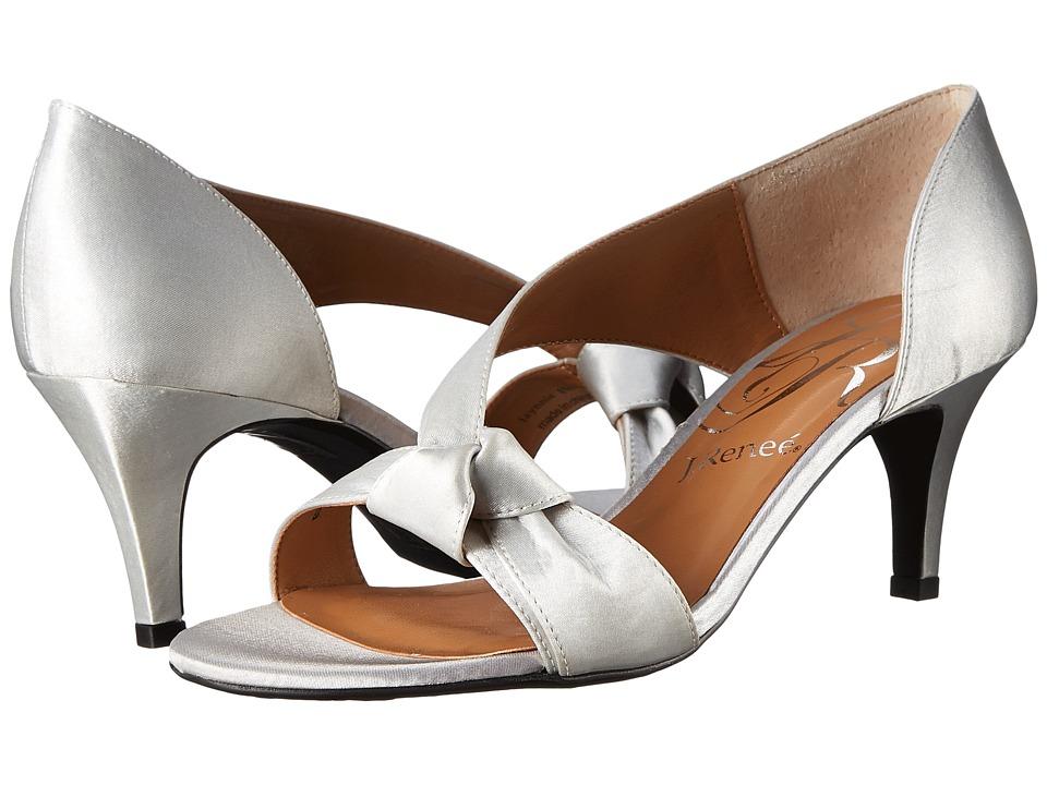 J. Renee Jaynnie (Silver) High Heels