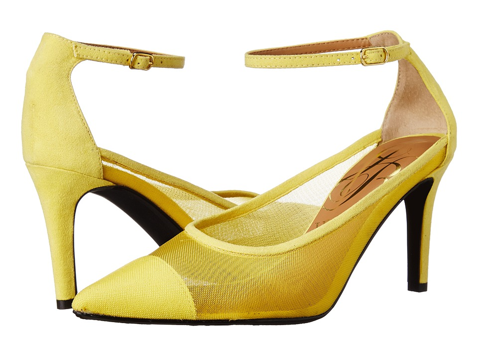 J. Renee Jena (Yellow) High Heels