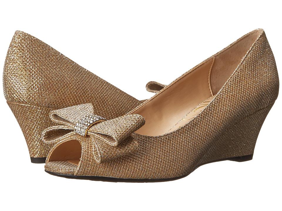 J. Renee Blare (Gold) High Heels