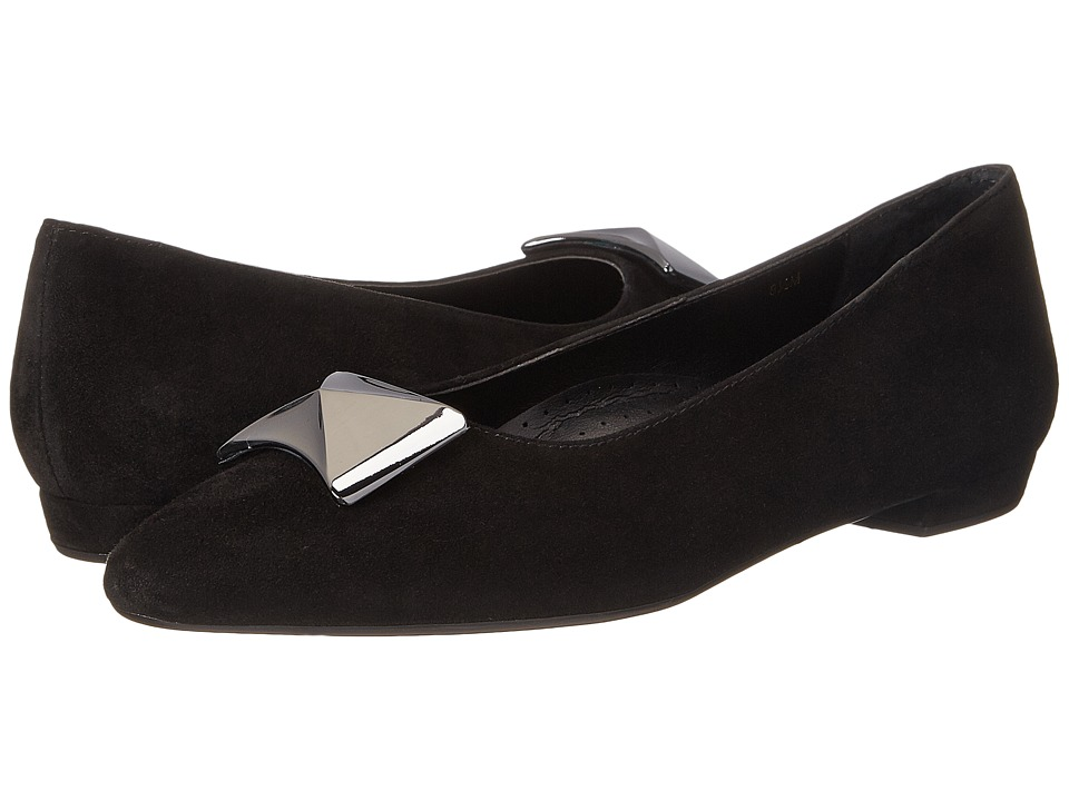 Vaneli Gaenor (Black Suede) Women