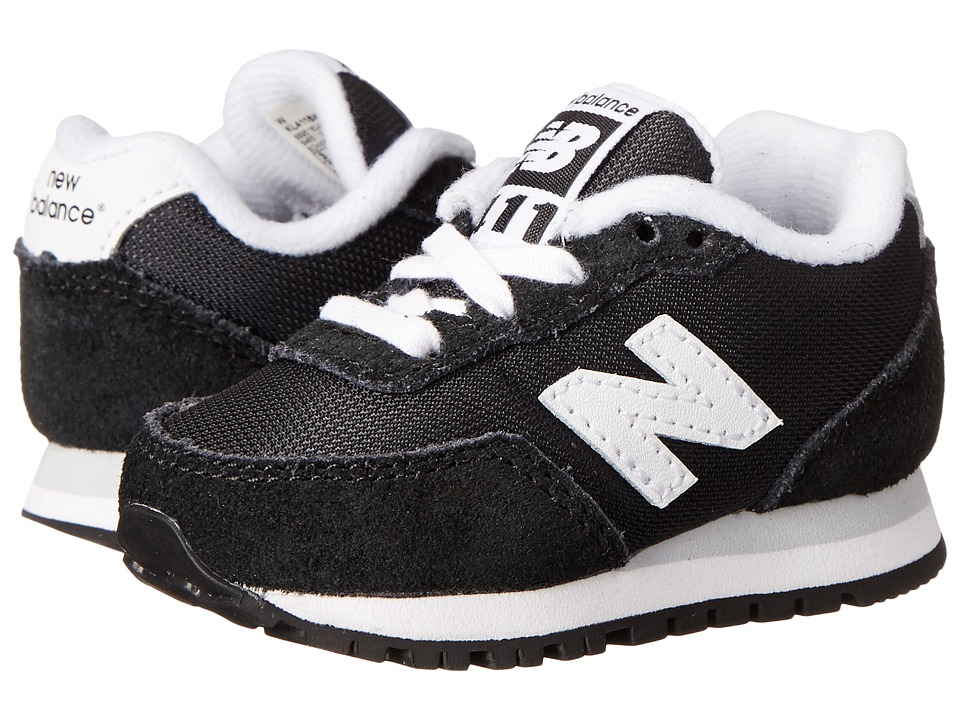 New Balance Kids - 411v1 (Infant/Toddler) (Black) Boys Shoes