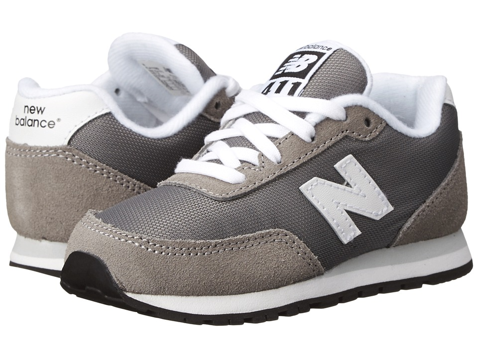 New Balance Kids - 411v1 (Infant/Toddler) (Grey) Boys Shoes
