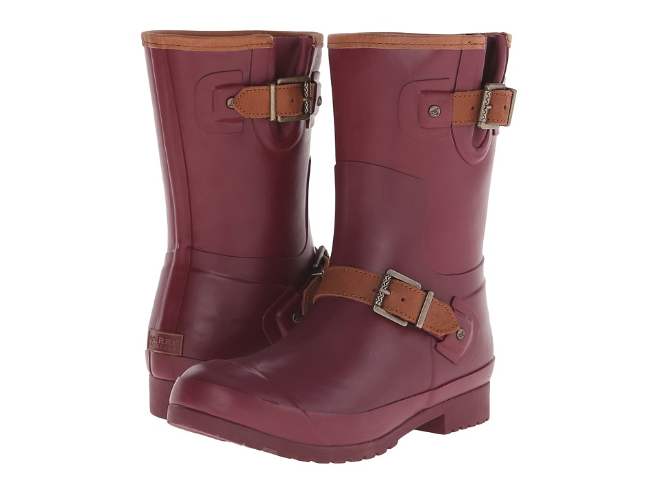 Sperry - Walker Fog (Burgundy) Women's Waterproof Boots