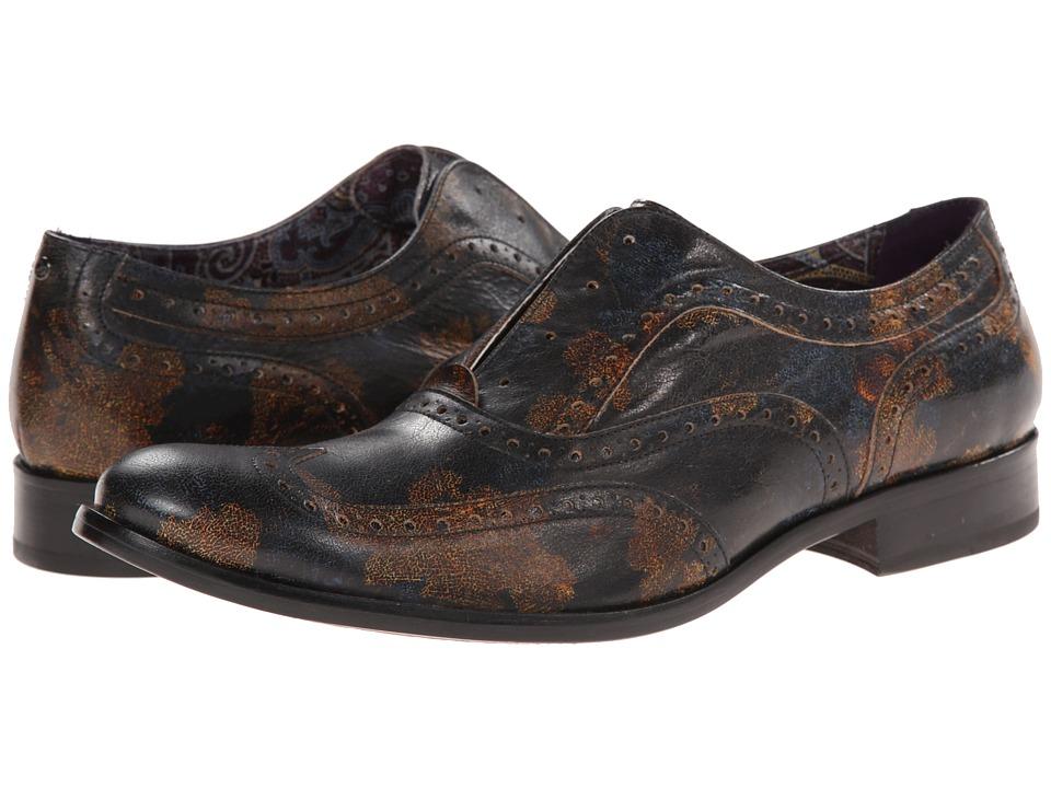 Robert Graham - Vanderbilt (Floral) Men's Slip on Shoes