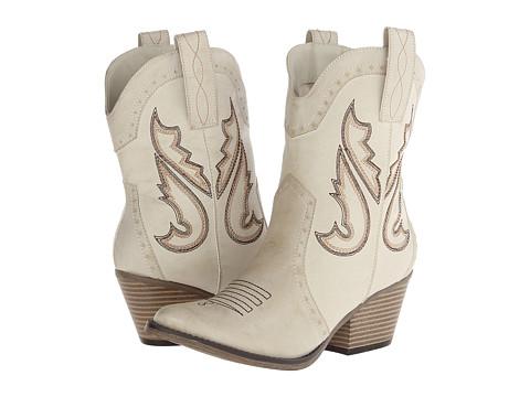 MIA - Horseback (Chalk) Cowboy Boots