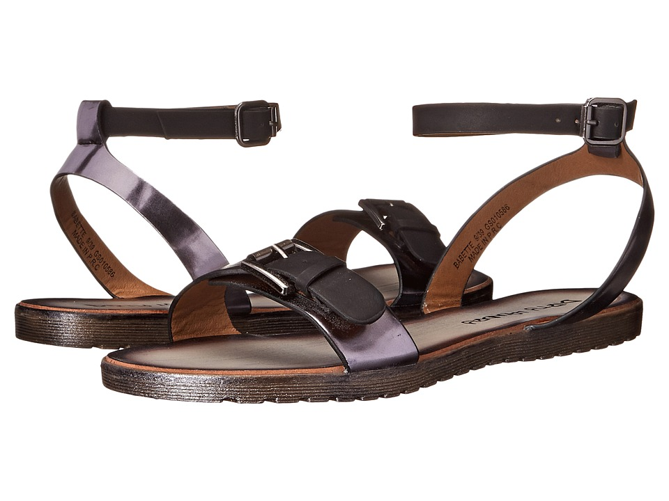 Dirty Laundry - Babette (Black Smooth) Women's Sandals