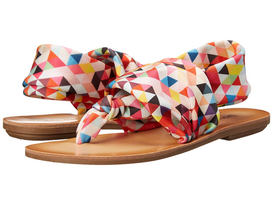 Dirty Laundry - Beebop (Poppy Geometric) Women's Sandals