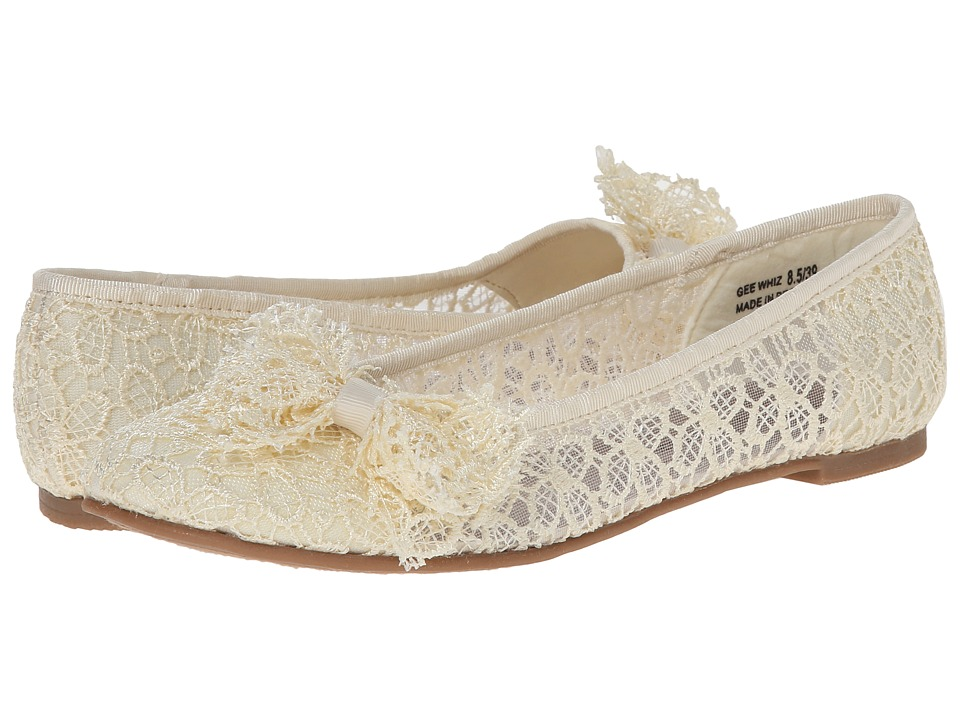 Dirty Laundry - Gee Whiz (Beige Blossom) Women's Dress Flat Shoes