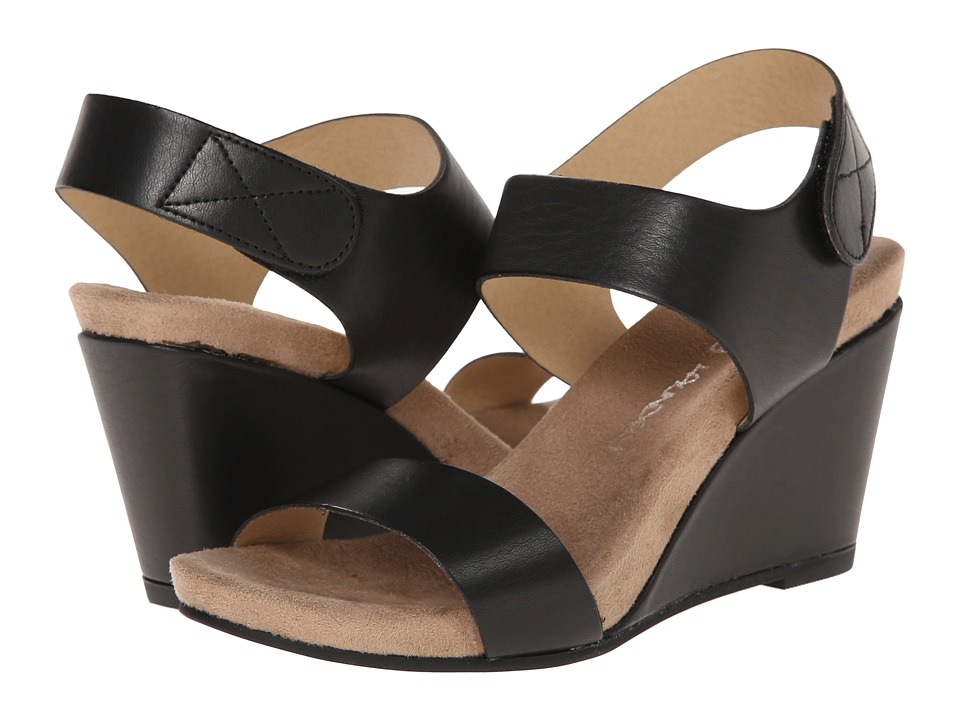 Dirty Laundry - DL Timely (Black Soft Bur) Women's Wedge Shoes