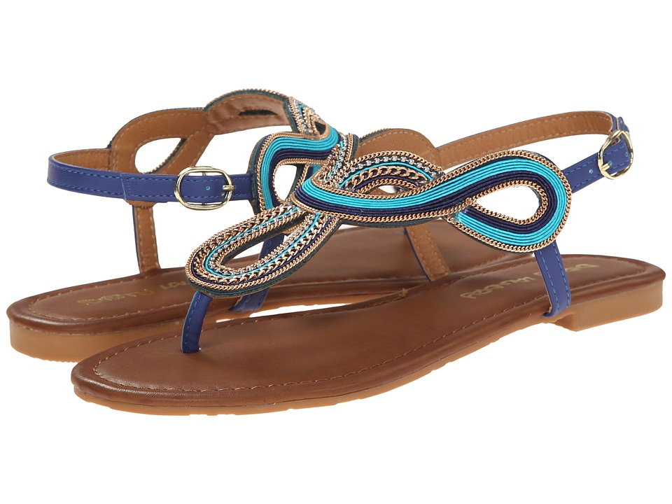 Dirty Laundry - DL Next In Line (Blue Nubuck) Women's Sandals