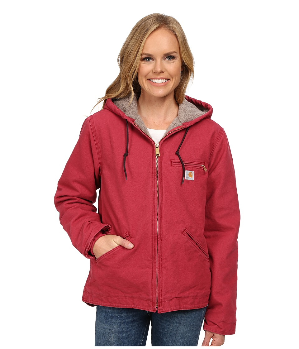 Carhartt - Sandstone Sierra Jacket (Crab Apple) Women's Jacket