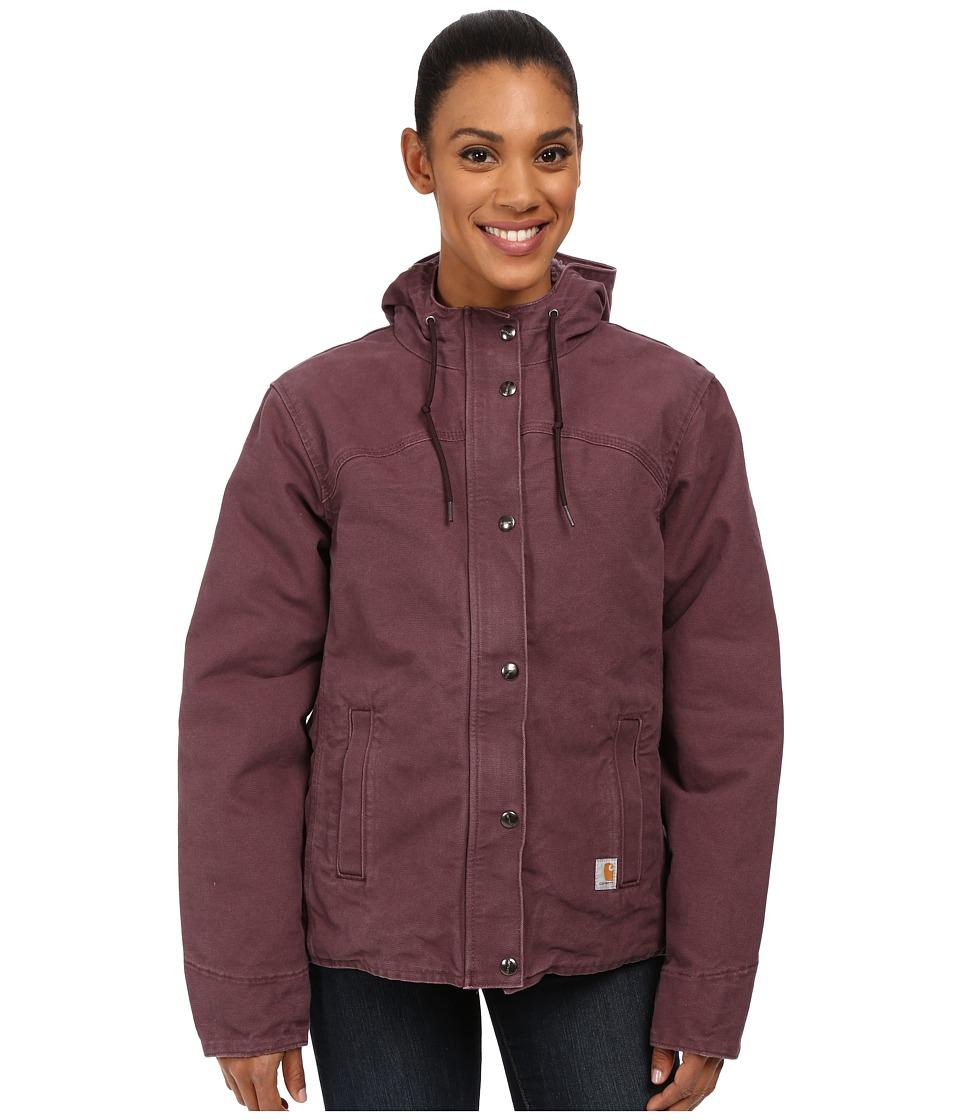 Carhartt - Sandstone Berkley Jacket (Dusty Plum) Women's Jacket