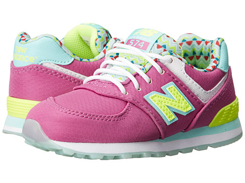 New Balance Kids - 574 Street Beat (Infant/Toddler) (Purple) Girls Shoes