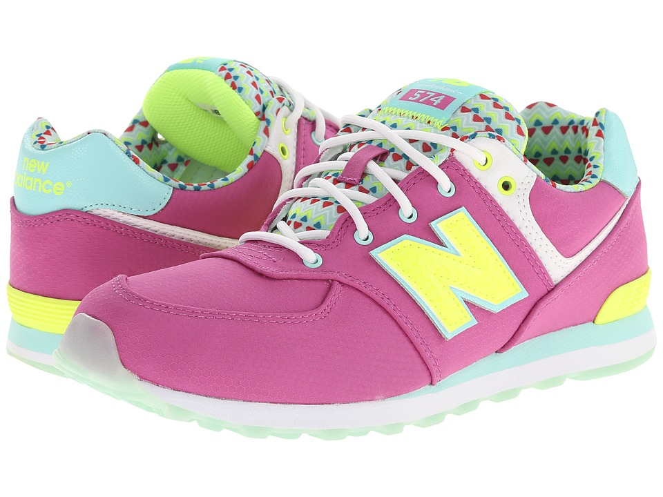 New Balance Kids - 574 Street Beat (Big Kid) (Purple) Girls Shoes