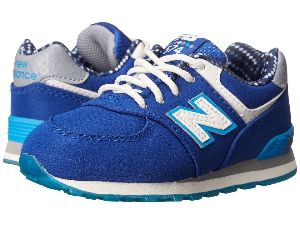 New Balance Kids - 574 Street Beat (Infant/Toddler) (Blue) Boys Shoes