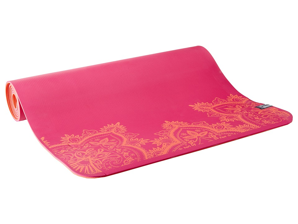 Prana - Henna E.C.O. Yoga Mat (Festival Pink) Athletic Sports Equipment