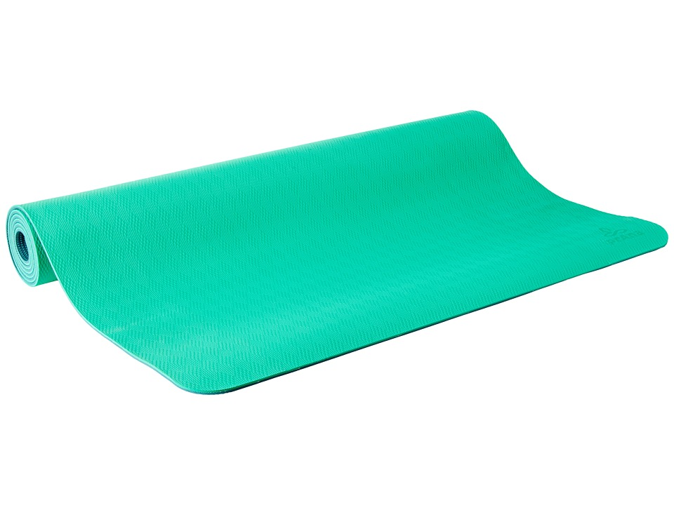 Prana - Large E.C.O. Yoga Mat (Cool Green) Athletic Sports Equipment