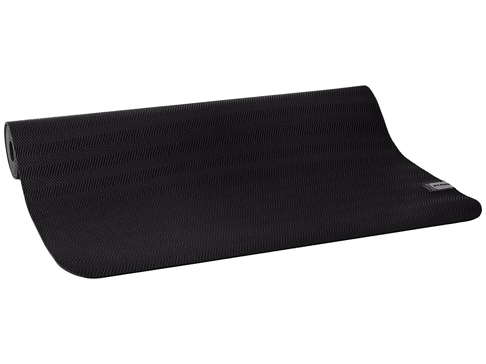 Prana - Nomad Travel Yoga Mat (Black) Athletic Sports Equipment