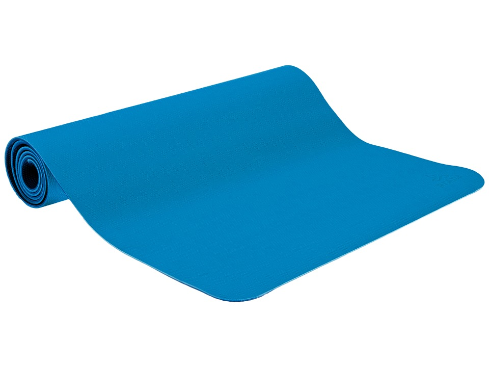 Prana - E.C.O. Yoga Mat (Danube Blue) Athletic Sports Equipment