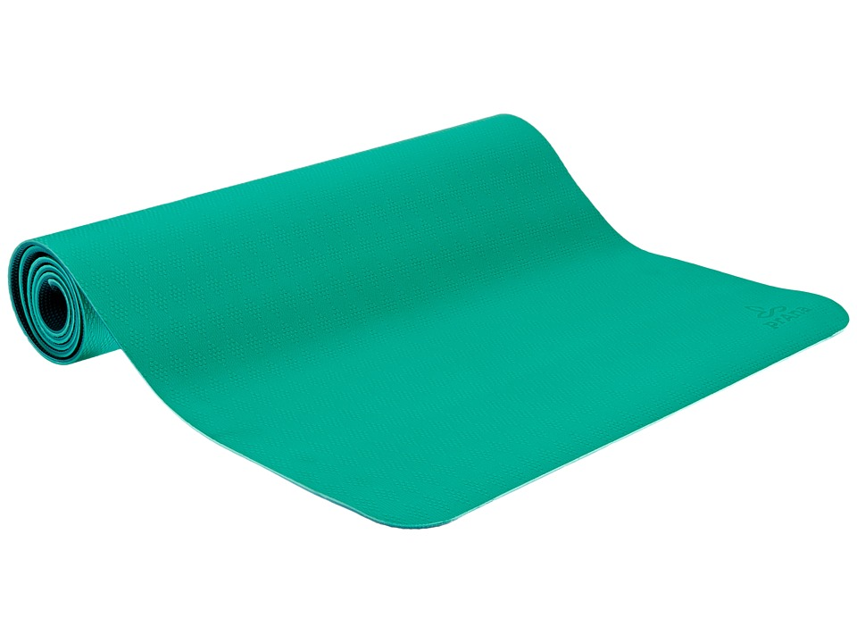 Prana - E.C.O. Yoga Mat (Cool Green) Athletic Sports Equipment