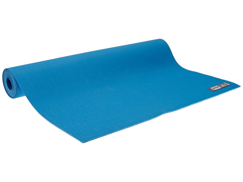 Prana - Indigena Natural Yoga Mat (Denube Blue) Athletic Sports Equipment