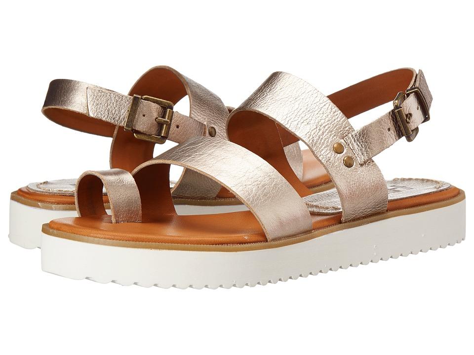 MIA - Heritage - Havana (Gold) Women's Flat Shoes