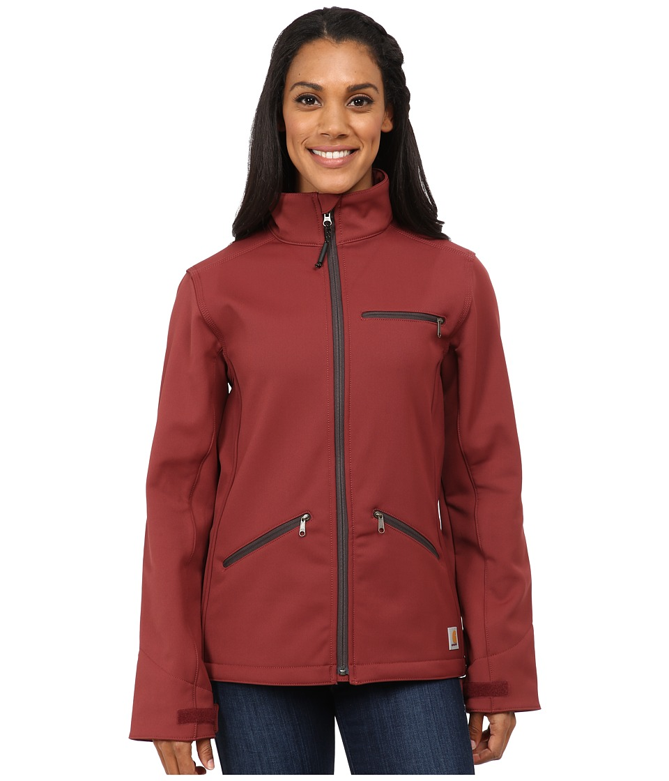 Carhartt - Crowley Jacket (Cinnamon Red/Dark Shale Lining) Women's Jacket