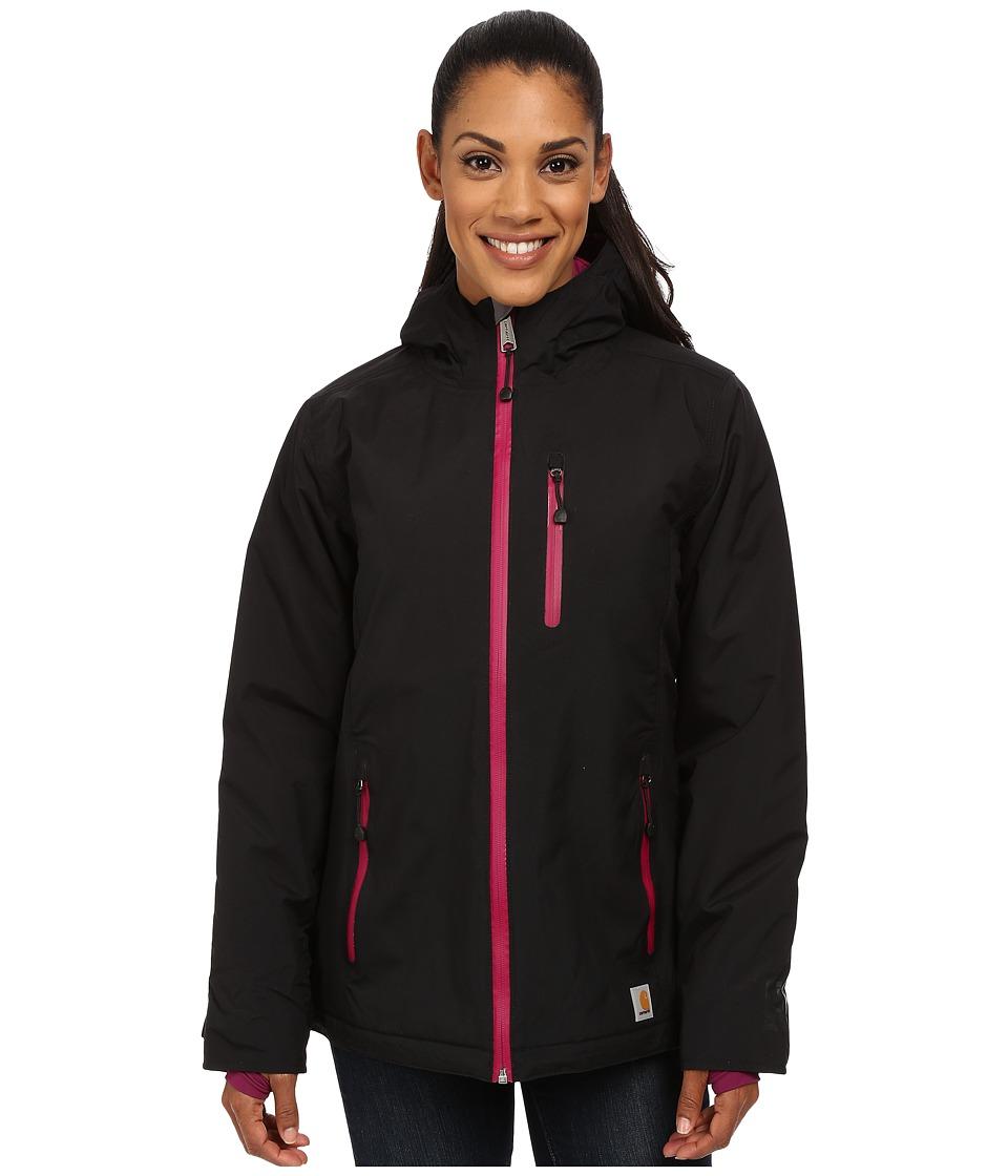 Carhartt - Elmira Jacket (Black/Magenta Lining) Women's Coat