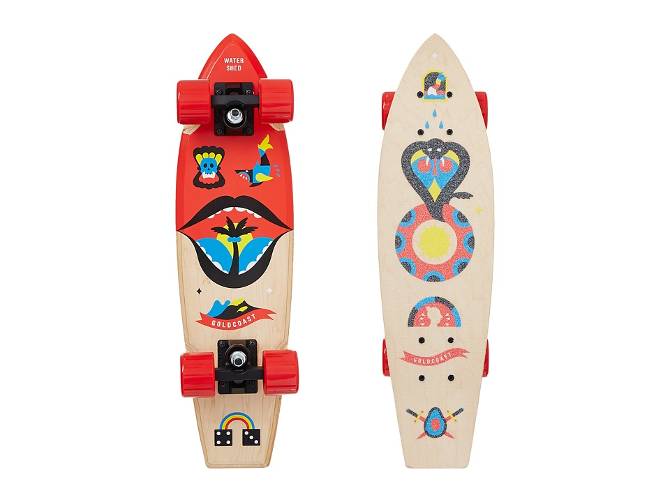 Gold Coast - Watershed Cruiser (Maple) Skateboards Sports Equipment