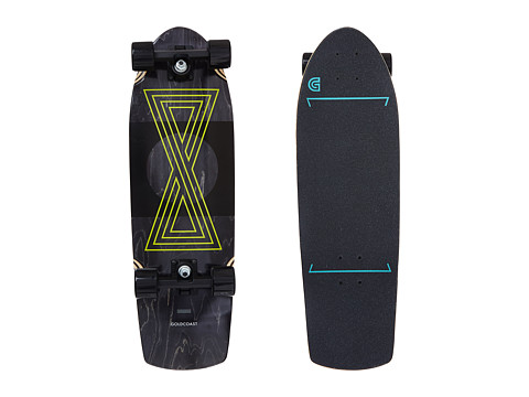 Gold Coast - The Infinitas Cruiser (Black) Skateboards Sports Equipment