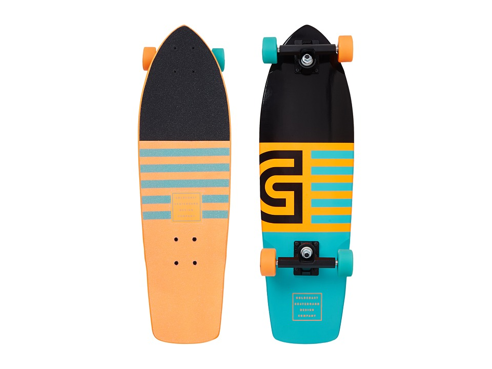 Gold Coast - The Jetty (Orange) Skateboards Sports Equipment